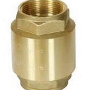 32mm Brass Spring Check Valve