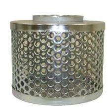 Galvanized steel strainer mesh
